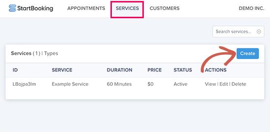 Agregar y administrar servicios