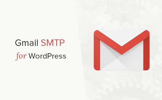 Odosielajte e-maily WordPress pomocou servera SMTP služby Gmail