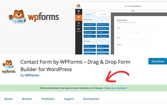 Giúp dịch thông báo plugin tại WordPress.org