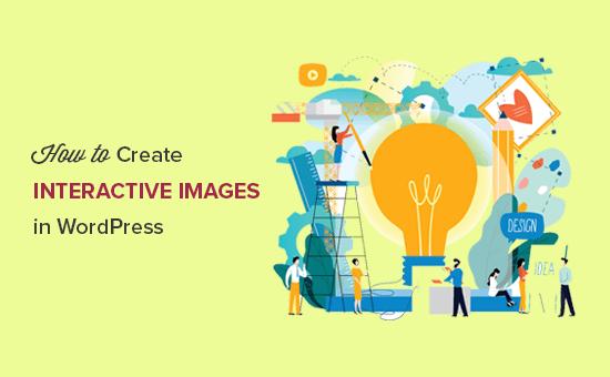 Crear imágenes interactivas en WordPress