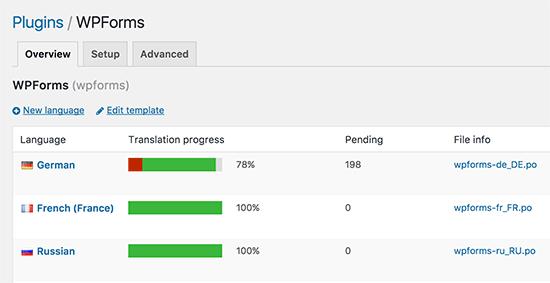 Lựa chọn ngôn ngữ trong Crazy Translate