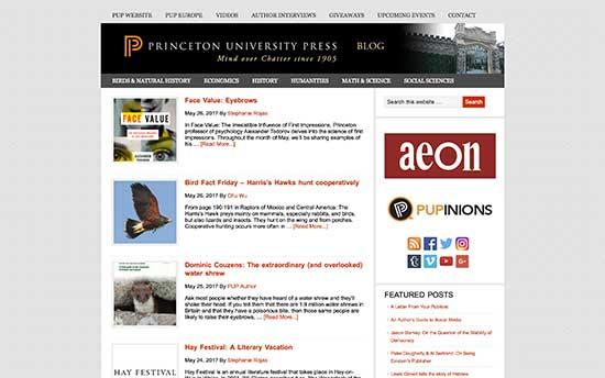 Prensa de la universidad de Princeton