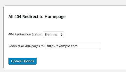 Tất cả 404 chuyển hướng đến trang chủ