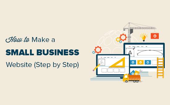 Tạo một trang web cho một doanh nghiệp nhỏ