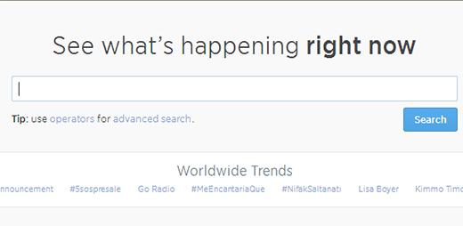 Twitter    Tìm kiếm