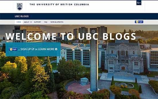 La universidad de columbia británica