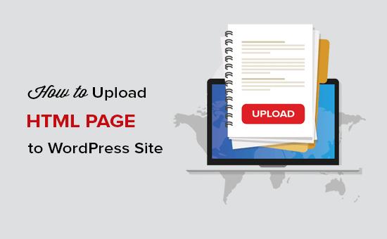 Ako nahrať stránku HTML na WordPress bez chýb 404