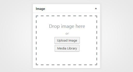 Subir o seleccionar imagen