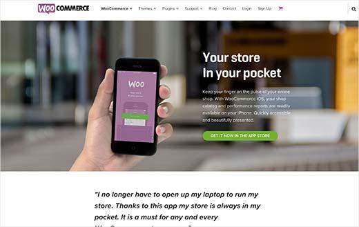 Aplikácia WooCommerce pre iOS