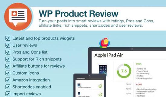 Đánh giá sản phẩm WP