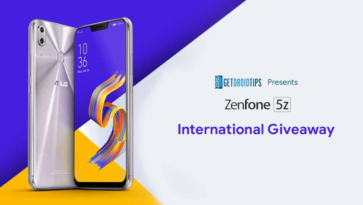 Asus Zenfone 5Z International Giveaway! Participate to own this stunning device