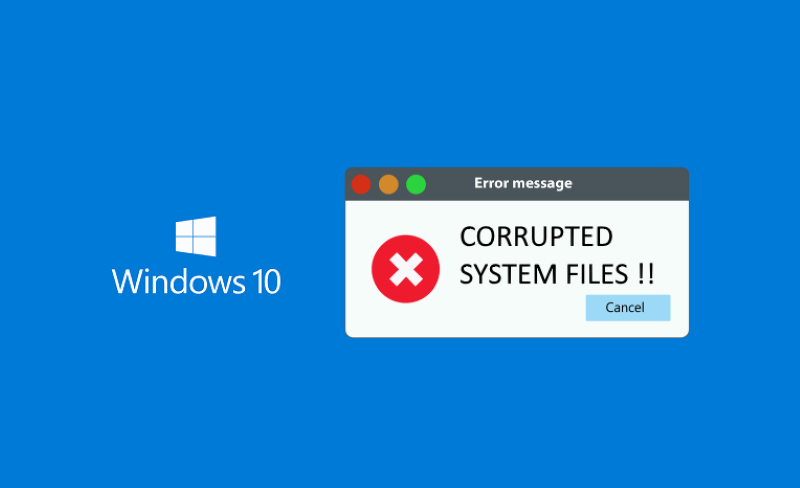 How To Fix Windows 10 Corrupted System Files?