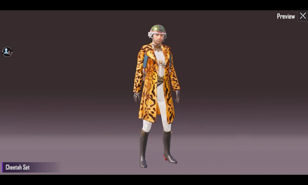 How to unlock the Cheetah Set in PUBG Mobile?
