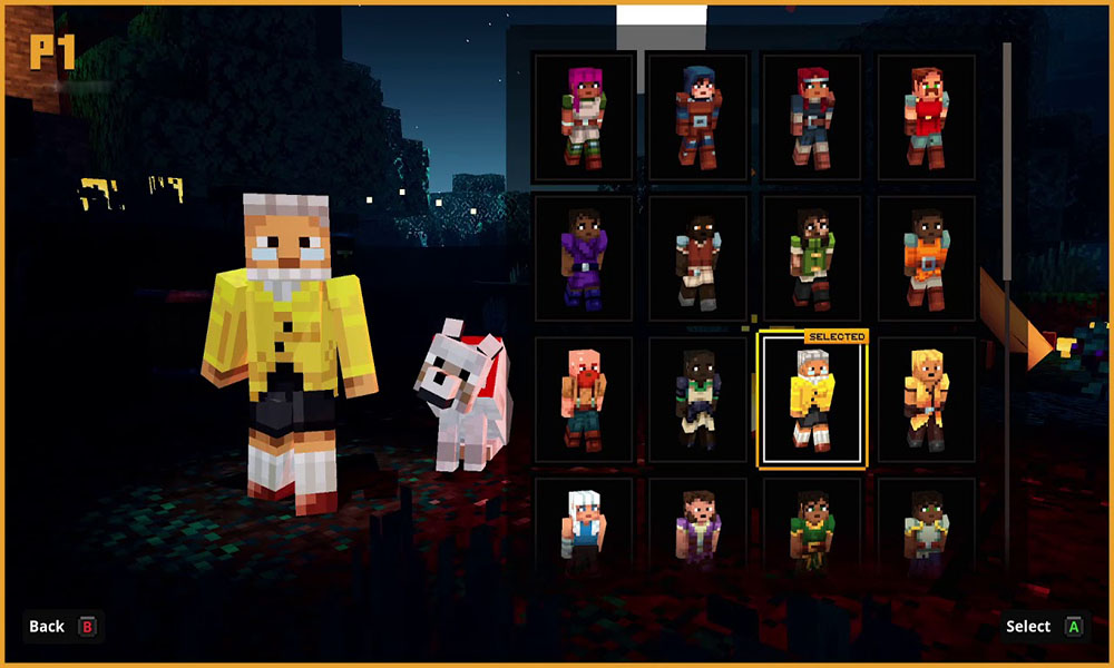 How to Unlock DLC Skins in Minecraft Dungeons?