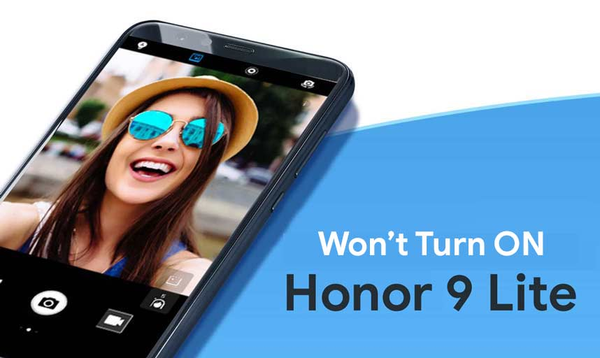 Huawei Honor 9 Lite that wont turn on