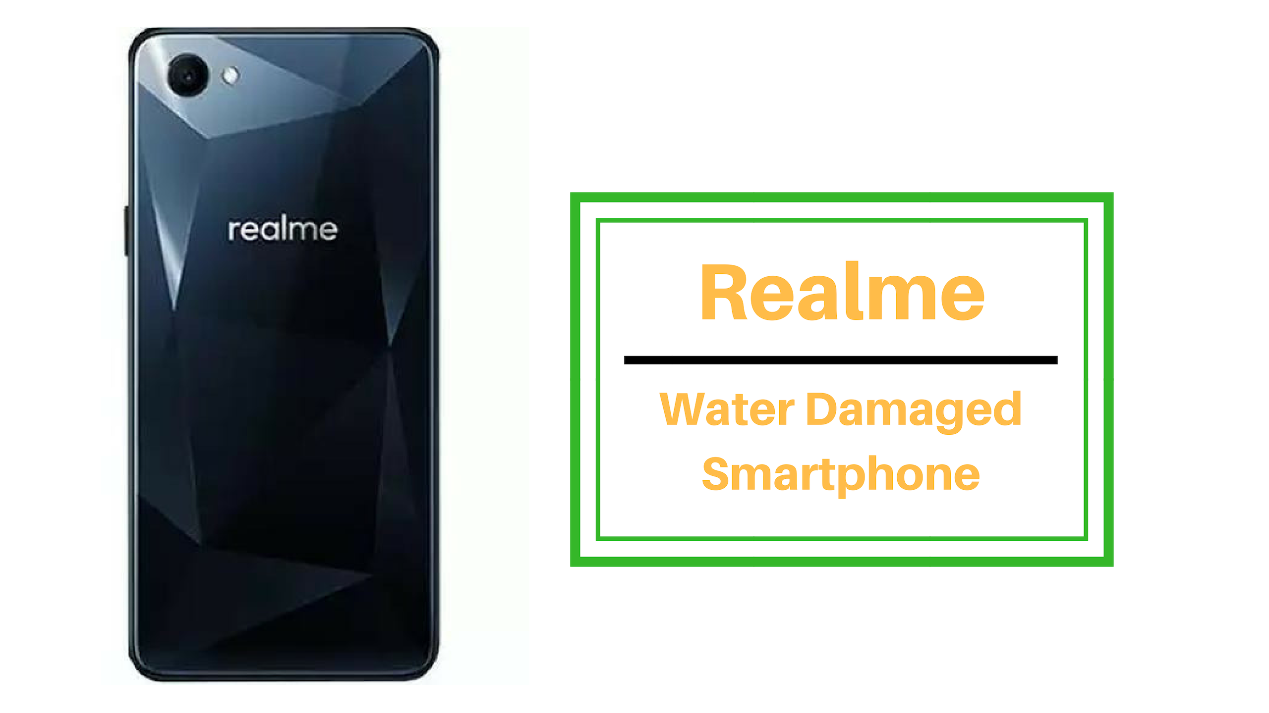 How to fix Realme water damaged smartphone?