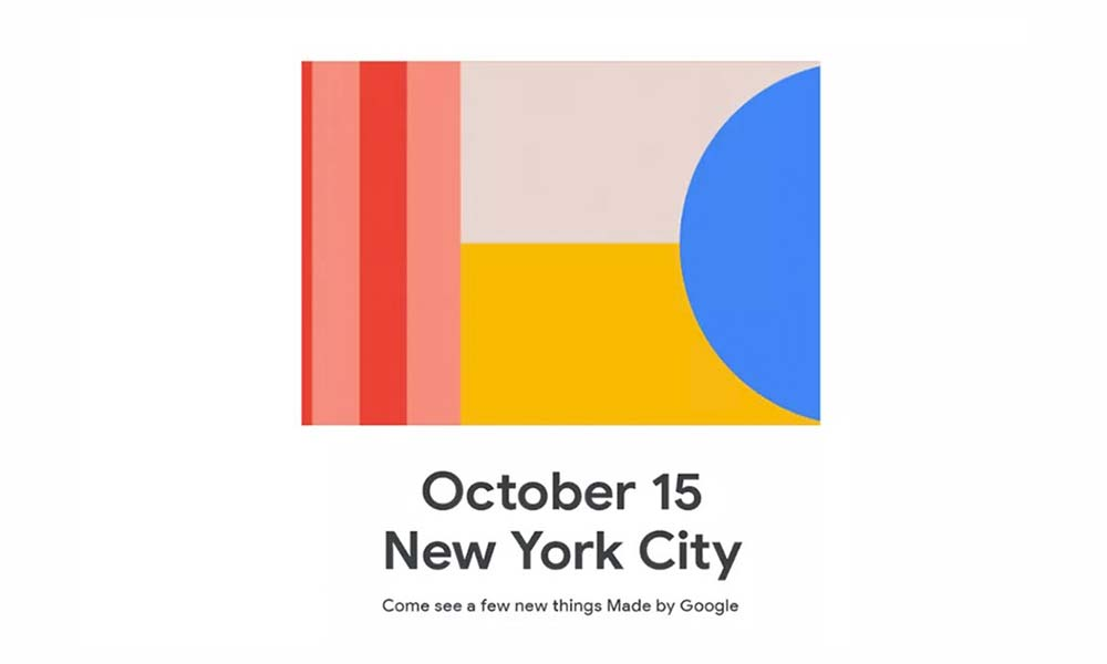 How to watch Google Pixel 4 launch live event?