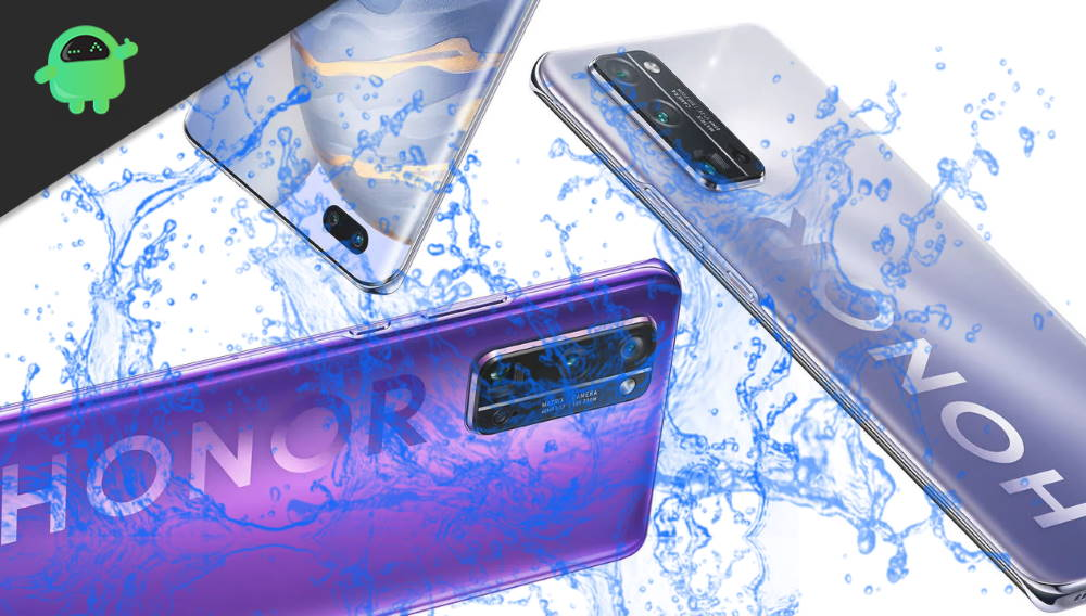 Which Is Waterproof device Honor 30, 30 Pro or 30 Pro+