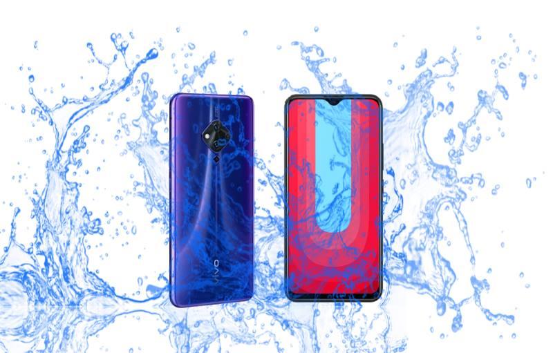 Which one is waterproof? Vivo S5 or U20?