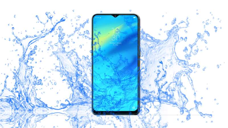 Realme 3 Pro Waterproof device or not?