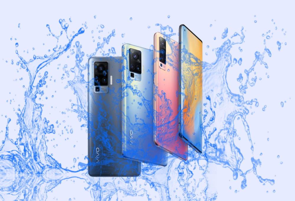 vivo X50, X50 Pro and Pro Plus Waterproof device