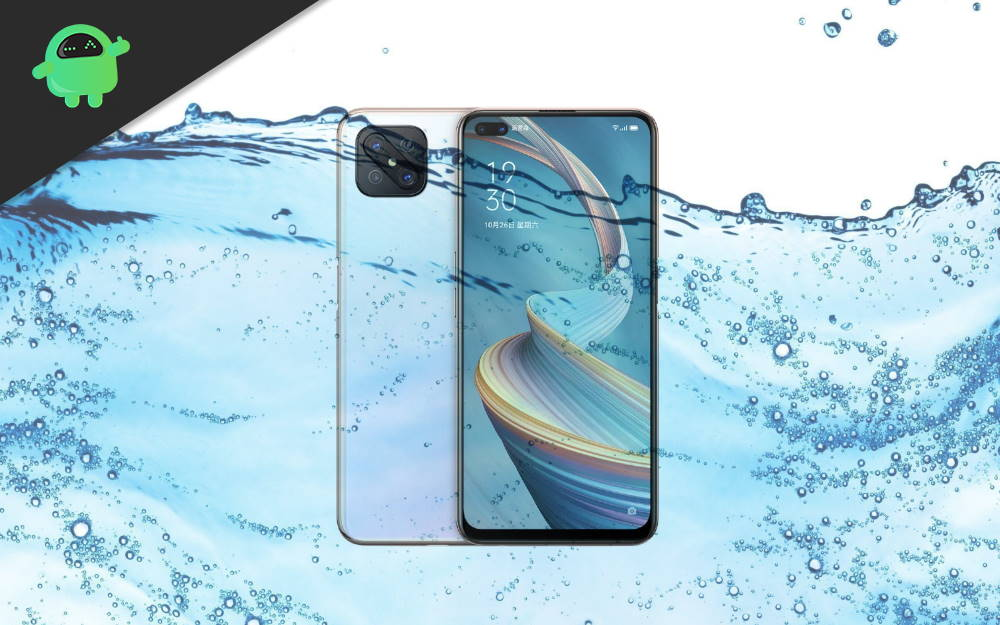 Is Oppo A92s has Waterproof IP Rating?