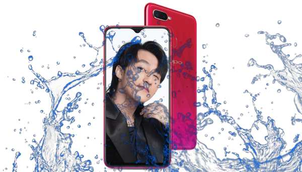 Is Oppo F9 waterproof and Dust Resistant?