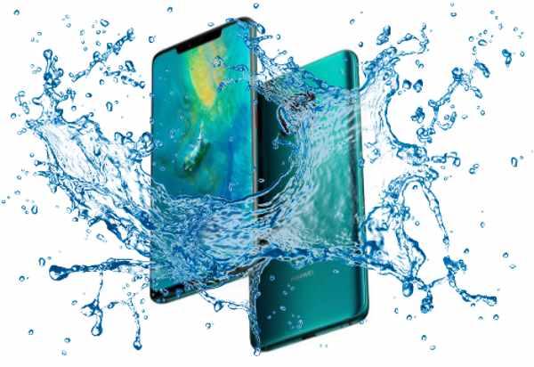 Is Huawei Mate 20 Pro Waterproof device?