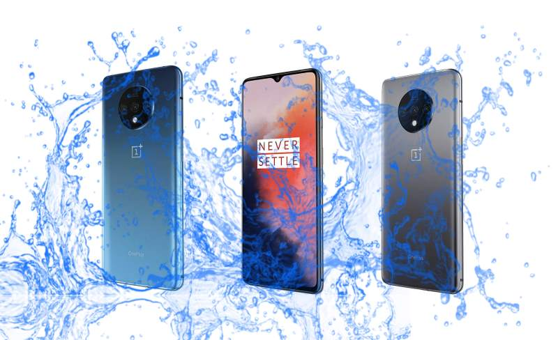 Is OnePlus 7T waterproof and dustproof protected device?