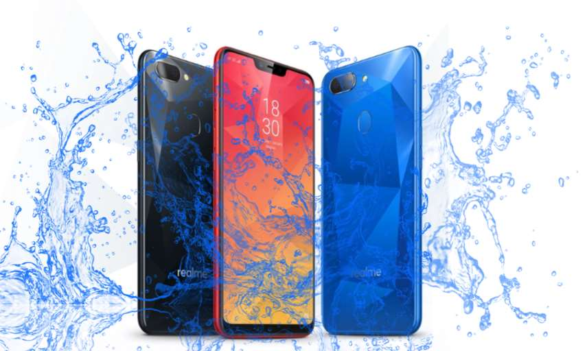 Is Realme 2 Waterproof device? Water and Dust Resistant Test