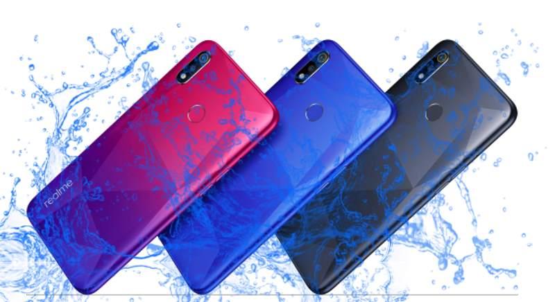 Is Realme 3i Waterproof device?
