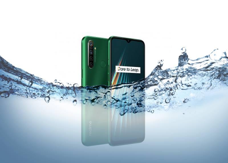 Is Realme 5i Waterproof device?