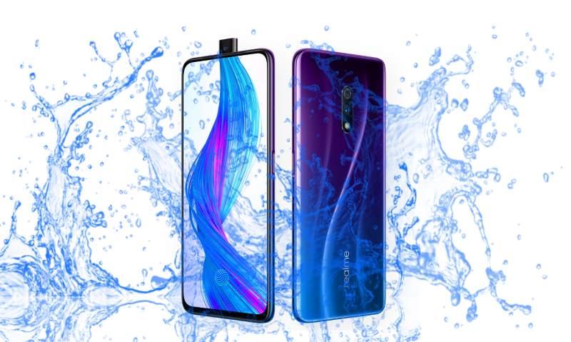 Is Realme X Waterproof device?