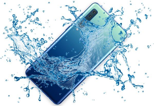 Is Samsung Galaxy A9 2018 waterproof device?