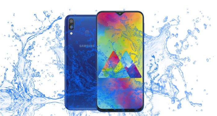 Is Samsung Galaxy M20 waterproof device ?