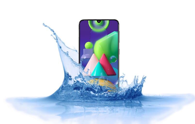 Is Samsung Galaxy M21 Waterproof device