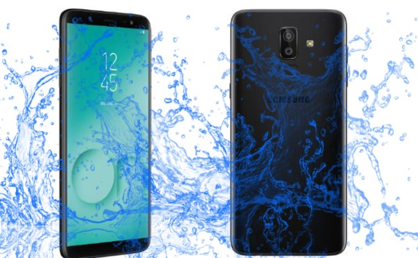 ¿El dispositivo Samsung Galaxy On8 es resistente al agua?