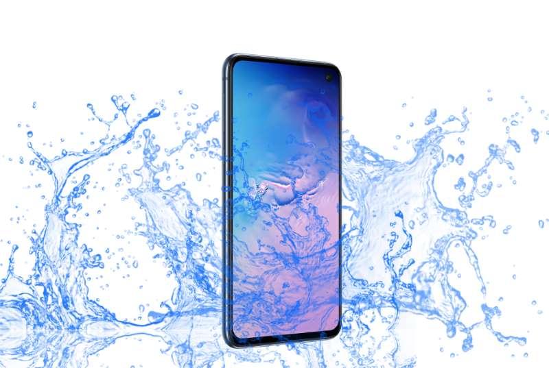 Is Samsung Galaxy S10E Waterproof device?
