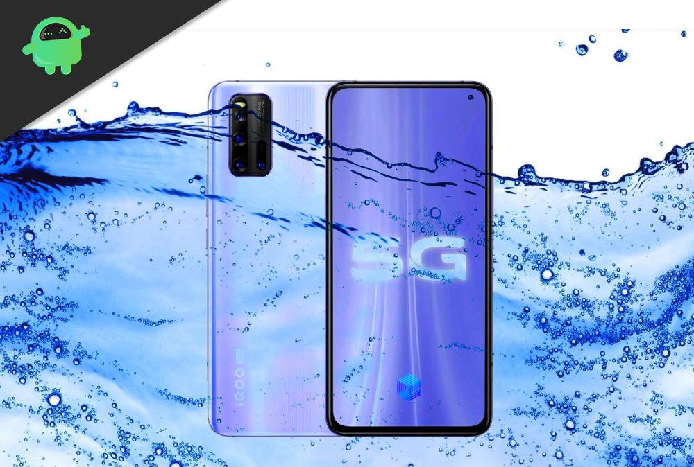 Is Vivo iQOO Neo3 5G Waterproof 5G device
