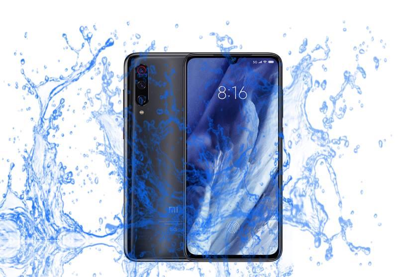 Is Xiaomi Mi 9 Pro Waterproof device?