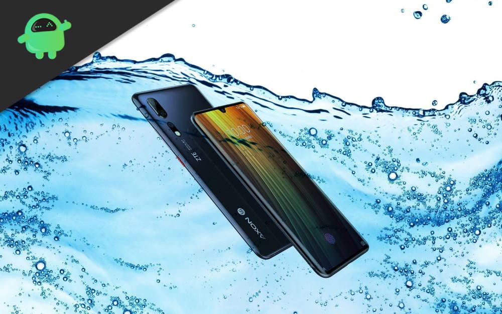 Is ZTE Axon 11 5G Waterproof device
