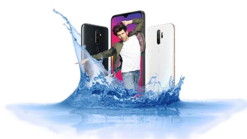 Is Oppo A5 2020 waterproof device?