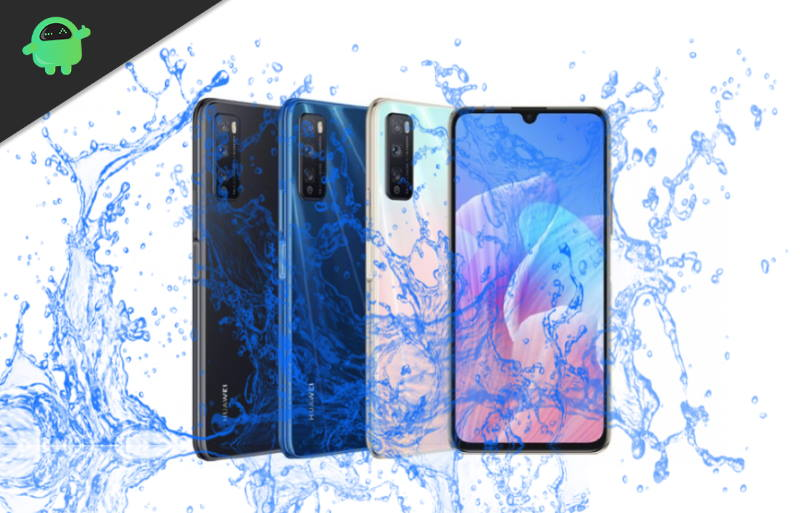 Is Huawei Enjoy Z 5G Waterproof smartphone?