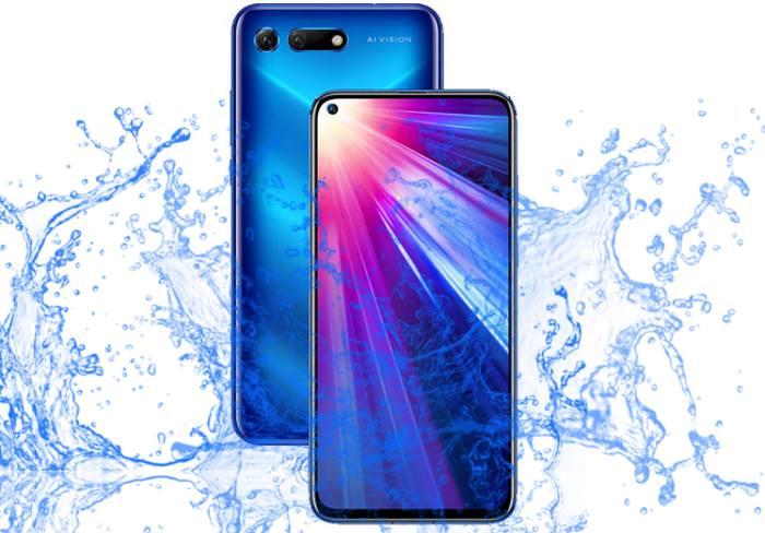 Is Huawei Honor View 20 a Waterproof smartphone?