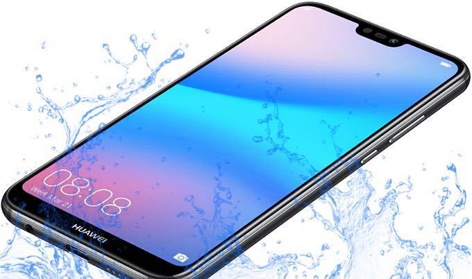 Huawei P20 Lite waterproof test