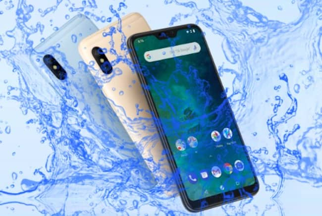 ¿Es Xiaomi Mi A2 un dispositivo a prueba de agua?