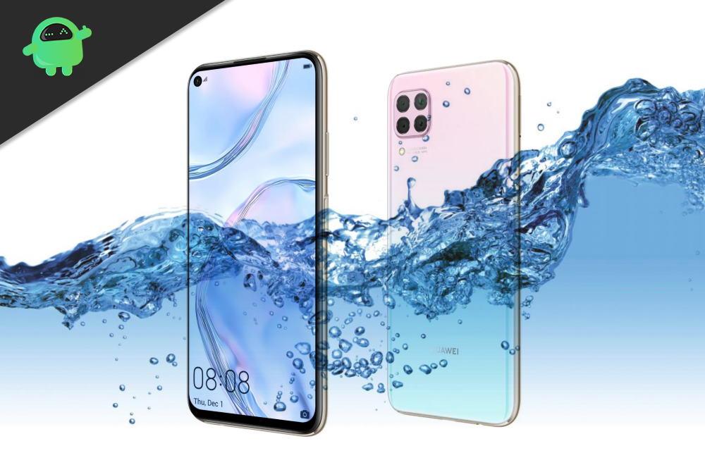 Is Huawei Nova 7, Nova 7 SE or 7 Pro Waterproof device