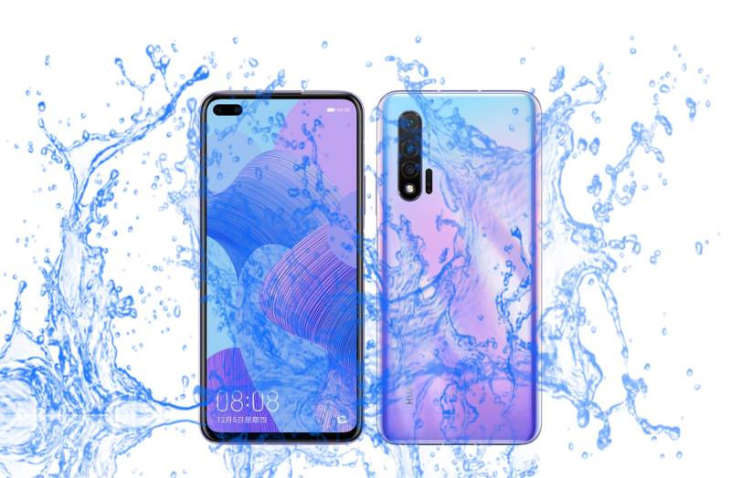 Is Huawei nova 6 Waterproof device or not?