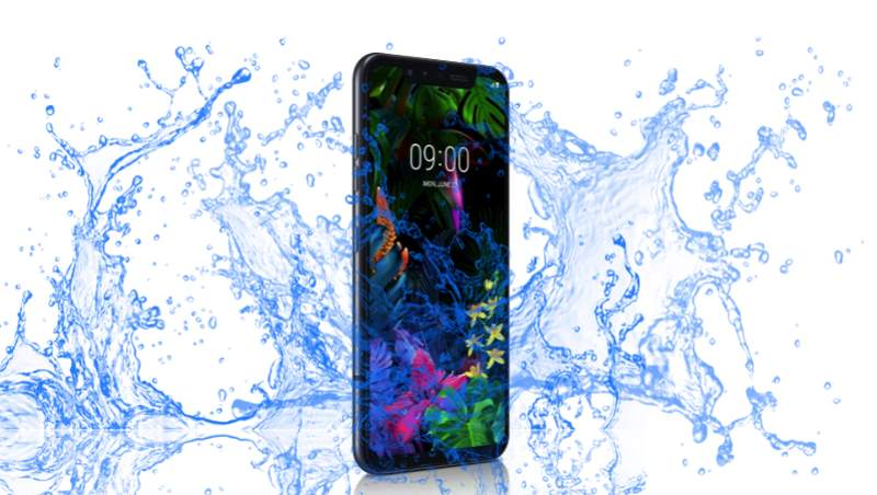 Is LG G8s ThinQ Waterproof device to take underwater video and picture?