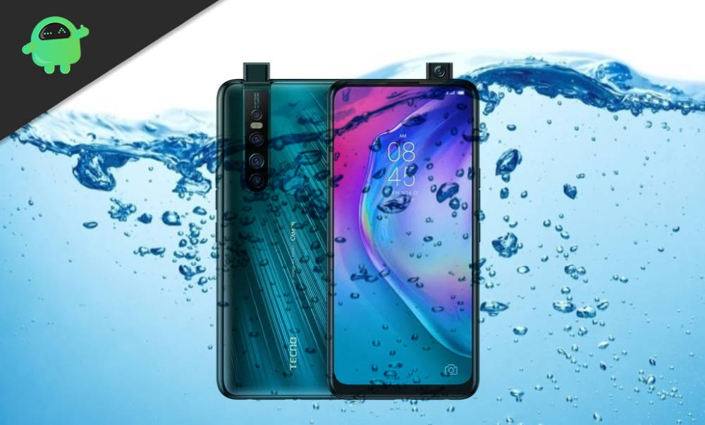 Is TECNO Camon 15 Premier Waterproof device in 2020?